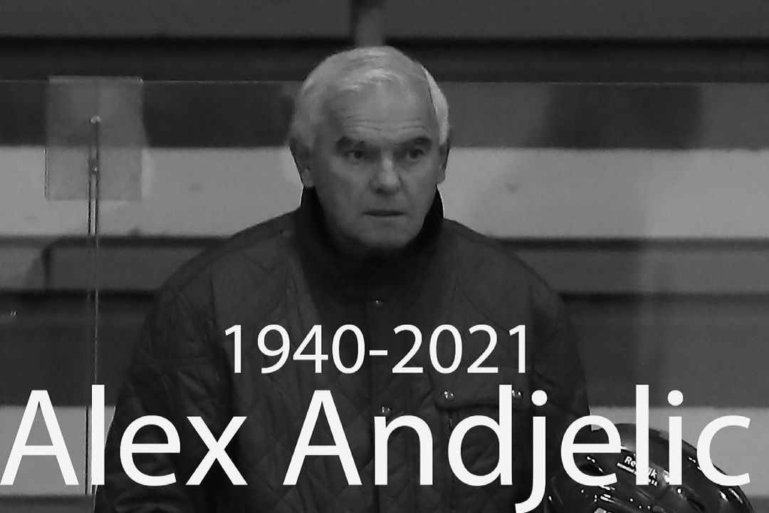 IJshockeycoach Alex Andjelic is vannacht op…